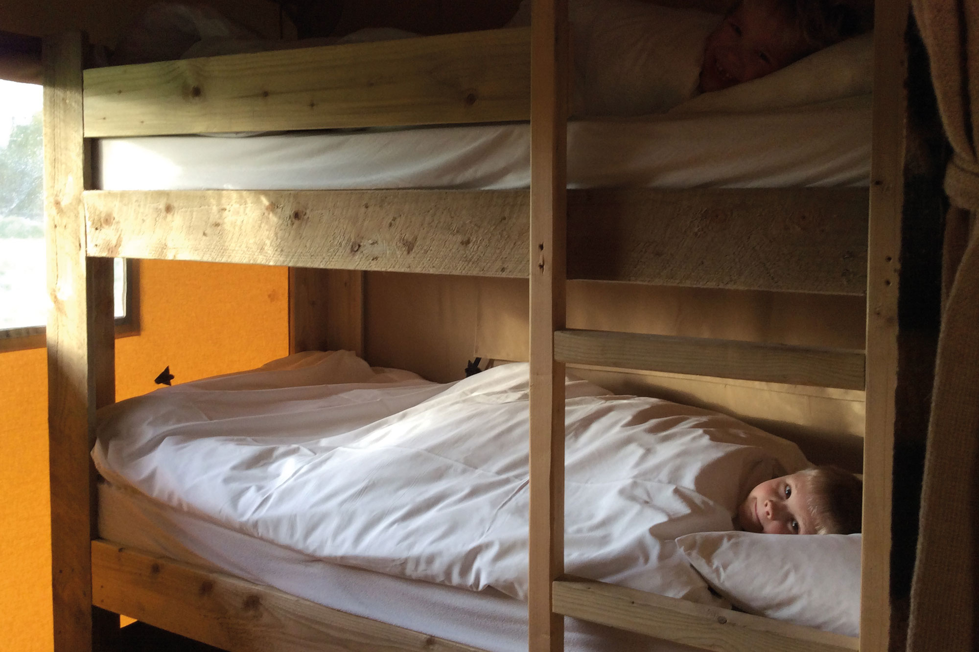 Glamping Safari Tent Bunk Beds