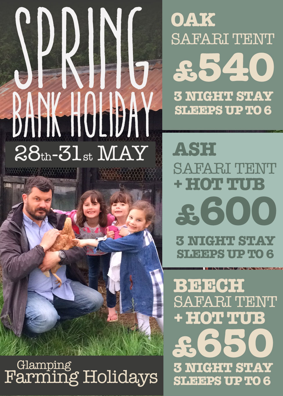 Spring Bank Glamping Holidays Devon