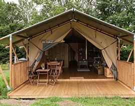 Ash Safari Tent & Glamping Holiday Accommodation on our Devon Farm